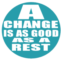 A change is as good as a rest